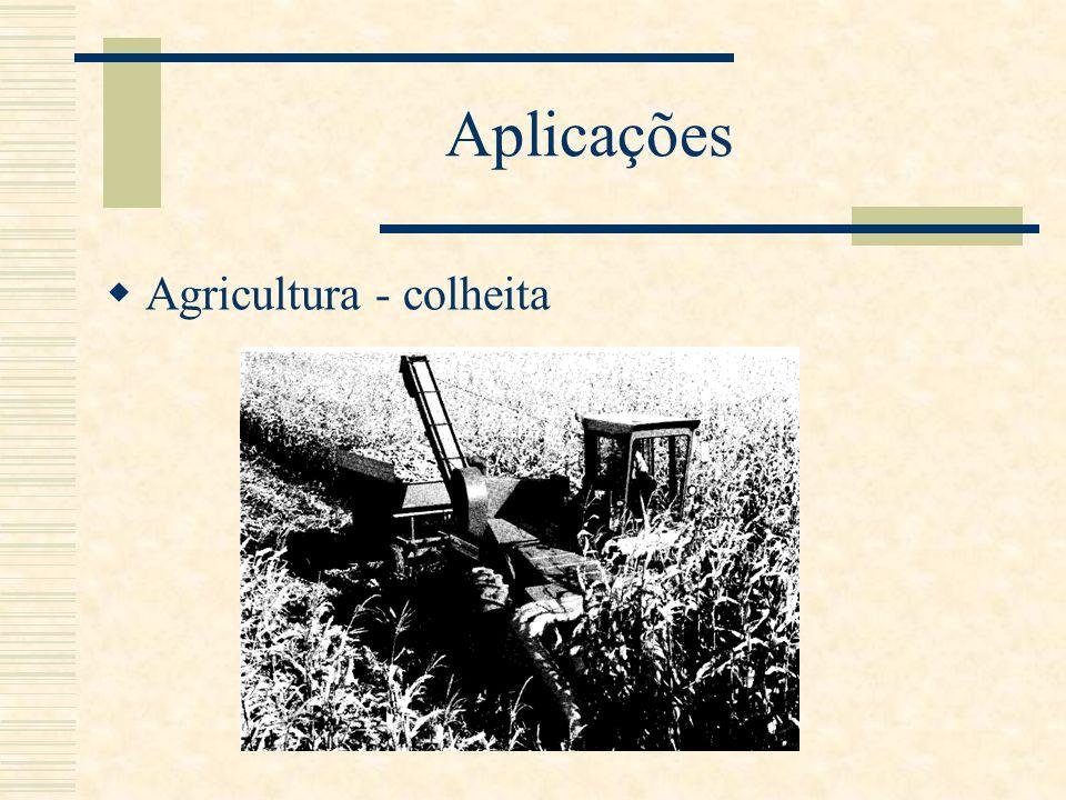 Aplicações Agricultura - colheita