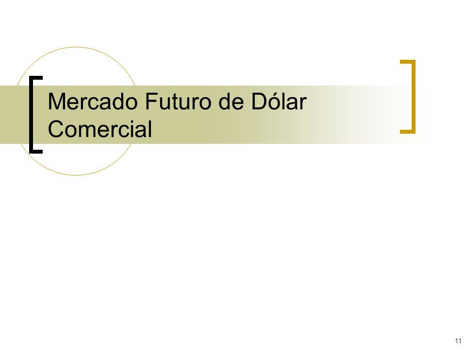 11 Mercado Futuro de Dólar Comercial