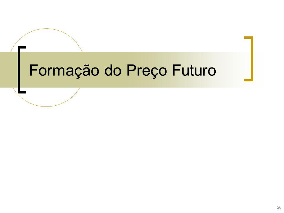 36 Formação do Preço Futuro