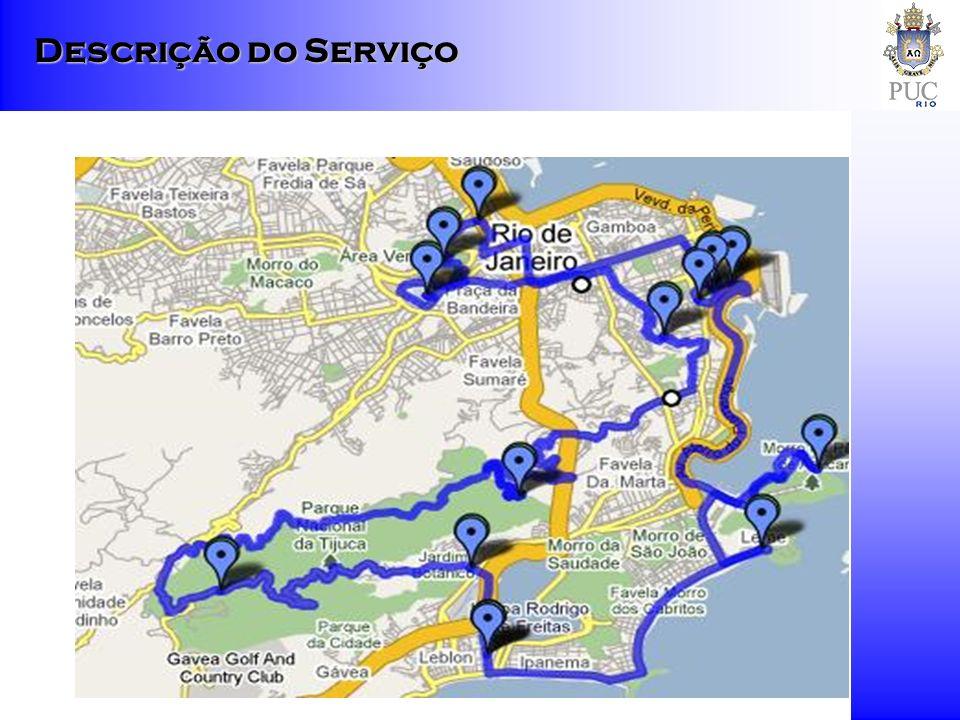 Promoção conjunta em pontos de informação turística – associação com RioTur e Embratur.