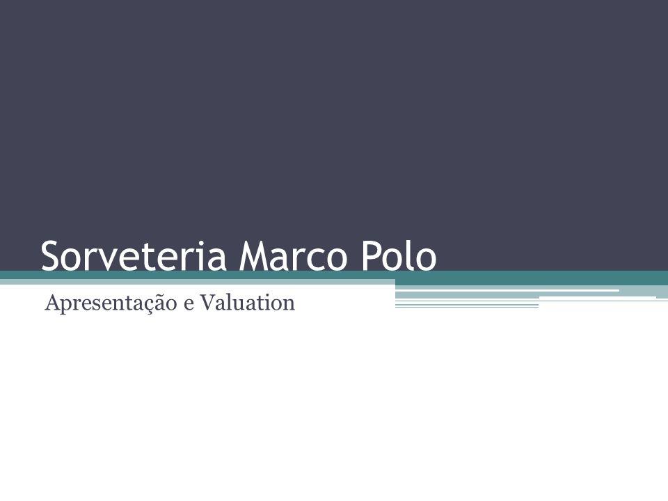 Sumário Executivo Sorveteria diferenciada localizada no Leblon VPL positivo de R$ 99.778 e TIR de 40.3% (WACC de 25%) Receita Líquida com CAGR de 17.5% Modelo Franchising