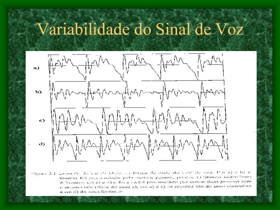 Variabilidade do Sinal de Voz