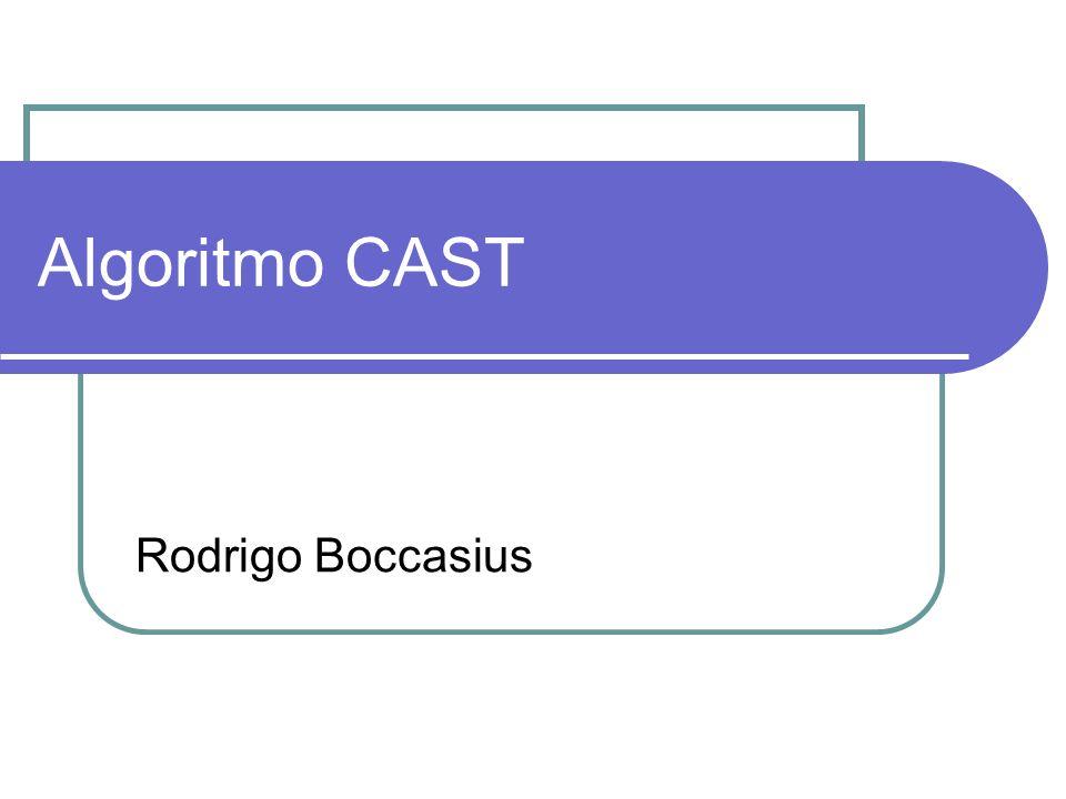 Algoritmo CAST Rodrigo Boccasius