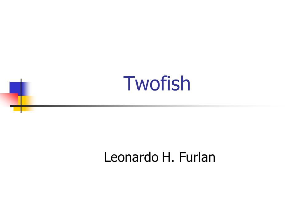 Criptoanálise Knudsen Possível distinguir entre permutação aleatória e Twofish reduzido (4 rodadas) Murphy Características para as 6 primeiras rodadas