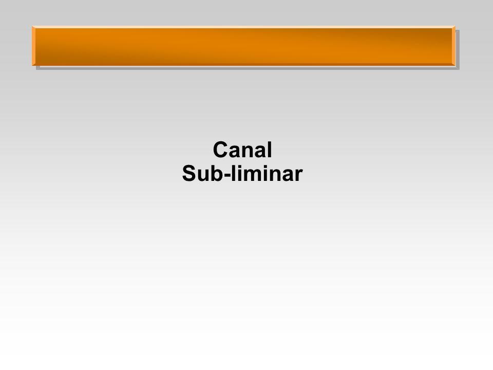 Canal Sub-liminar