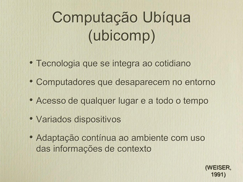 Conceitos Cláudio Geyer / Valderi Leithardt 6/15 RSFID Universidade Federal do Rio Grande do Sul - PPGC