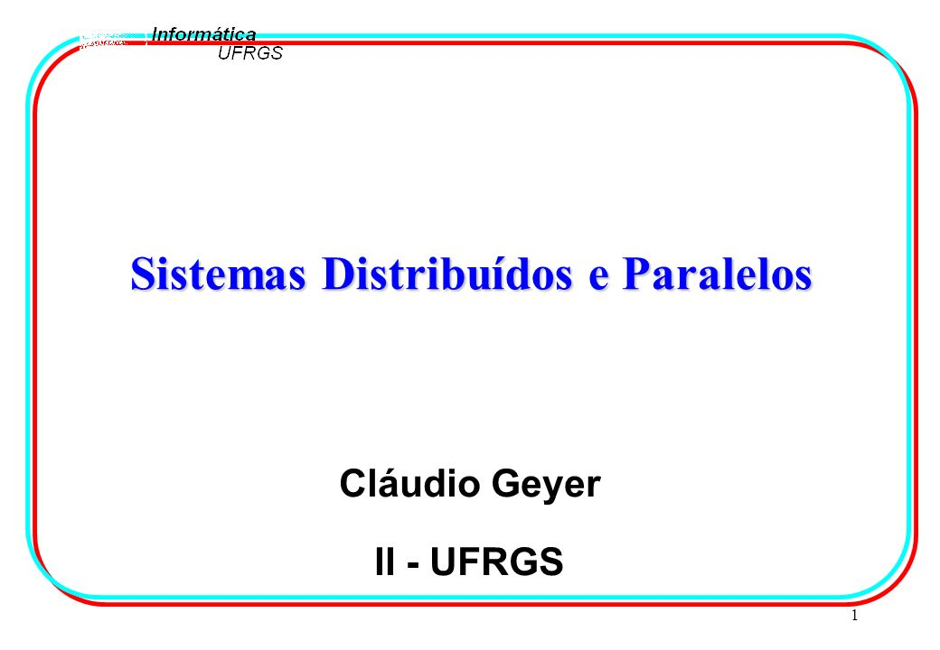 22 Atividades Atuais l Sistemas ämodelo (protocolo) de simulação paralela o protocolo conservador äavaliação de desempenho de sistemas (aplicações) distribuídos o simulador de políticas de escalonamento para SD