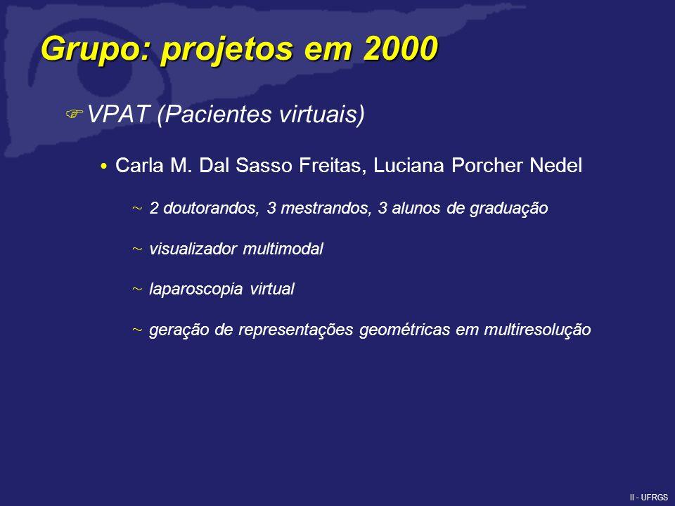 II - UFRGS F VPAT (Pacientes virtuais) Carla M.