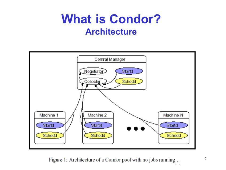 28 Running Jobs on Condor Submission file –esse arquivo é transformado em um ClassAdd para cada job que precisa ser instanciado p.ex.