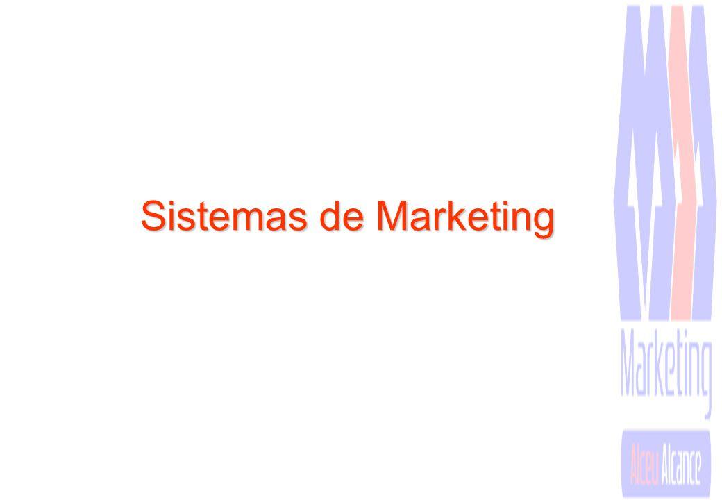 Sistemas e Estrutura de Marketing Para desenvolver essas atividades, a administração de marketing necessita desenvolver ao menos alguns sistemas básic