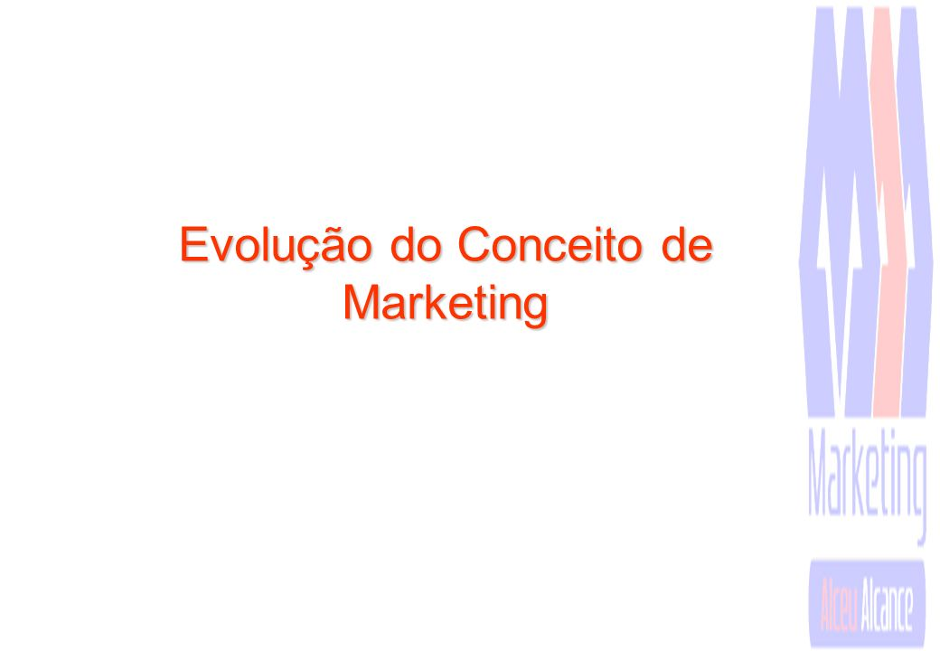 ADMINISTRAÇÃO DE MARKETING Administração de Marketing é o processo de planejamento e execução da concepção, preço, promoção e distribuição de idéias, bens e serviços para criar trocas que satisfaçam metas individuais e organizacionais.