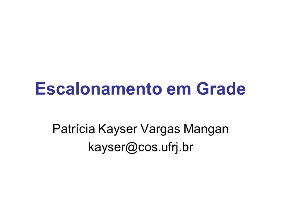 05/10/2005PDP - UFRGS2 Roteiro Introdução Escalonamento em ambiente de grade Modelo GRAND Considerações Finais