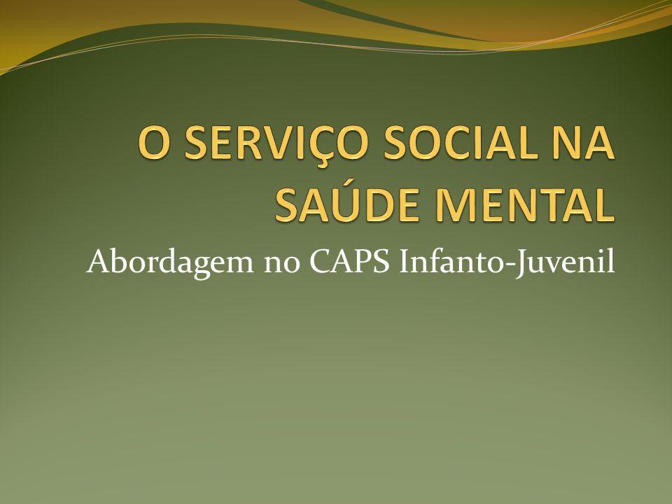 Abordagem no CAPS Infanto-Juvenil
