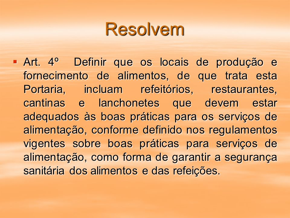 Resolvem Art.