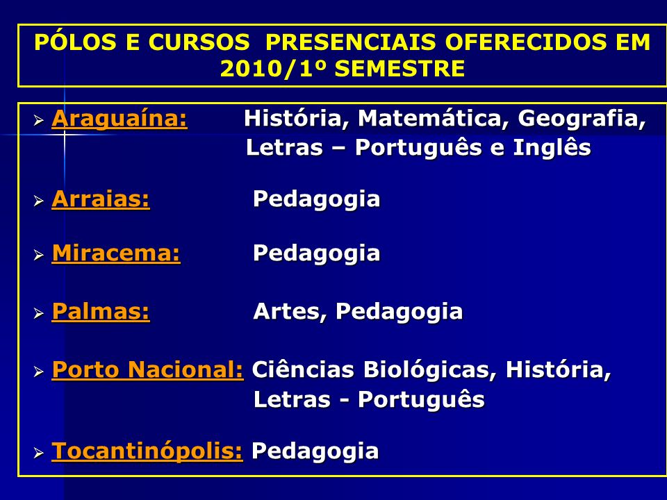 Araguaína: História, Matemática, Geografia, Araguaína: História, Matemática, Geografia, Letras – Português e Inglês Letras – Português e Inglês Arraia