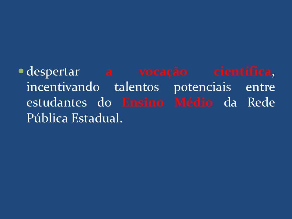 PROPOSTAS ELEGÍVEIS Por parte da Instituição Proponente : estar sediada no Estado de Tocantins; ser instituição de Ensino Superior se comprometer a propiciar condições adequadas de espaço, infraestrutura, pessoal de apoio técnico e administrativo para o desenvolvimento do projeto proposto