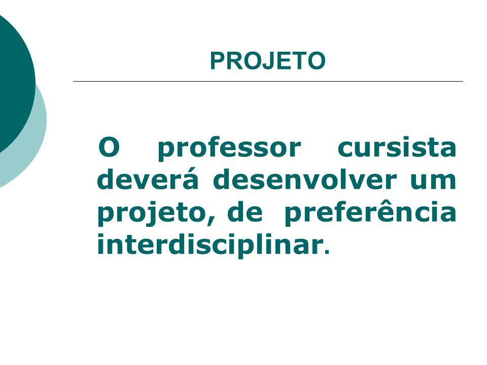 Sugestão de estrutura do projeto: Temática Problemática Fundamentação teórica Objetivos Metodologia Cronograma Equipe de trabalho Avaliação