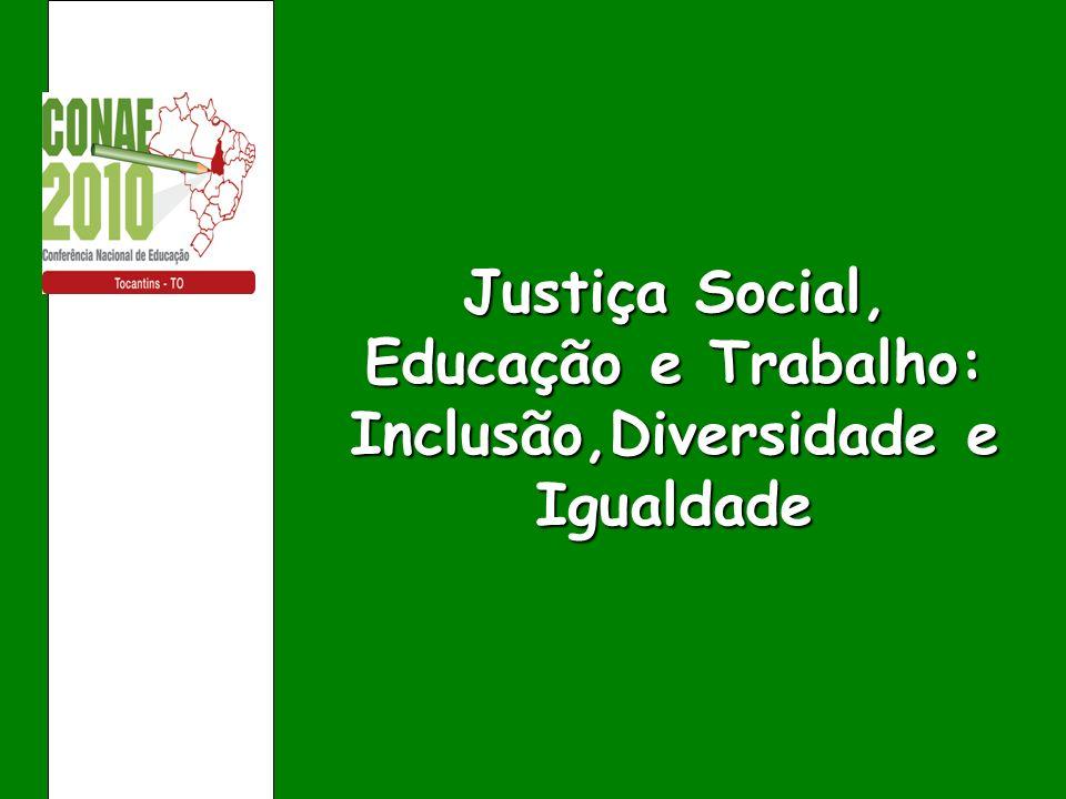 o sonho de muitas pessoas pela construção de uma sociedade mais justa, igualitária e democrática por meio de uma escola inclusiva e de qualidade ainda está longe de acontecer.
