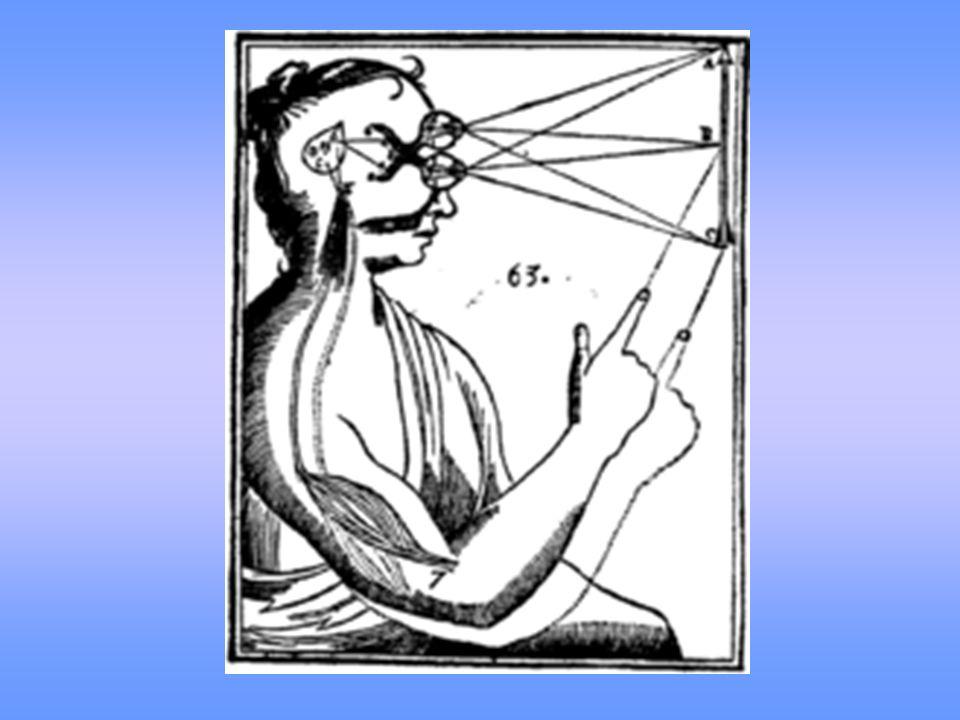 Epistemologia Conhecimento - o poder de conhecer um todo indivisível funcionando de modo simples, idêntico e absoluto- - idéias adventícias (da experiência) - idéias factícias ou combinatórias (inventadas) - idéias inatas (colocadas por Deus) eu pensante imperfeito e infinito é dotado da idéia de perfeição e infinitude. Em Meditações (1641) Prova a existência de Deus como fundamento da objetividade.