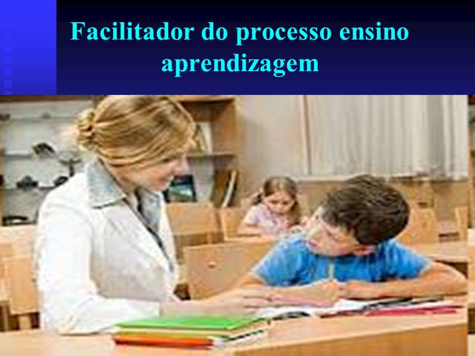 Facilitador do processo ensino aprendizagem