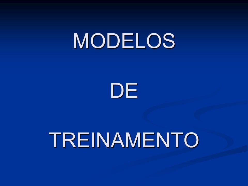 MODELOS DE TREINAMENTO