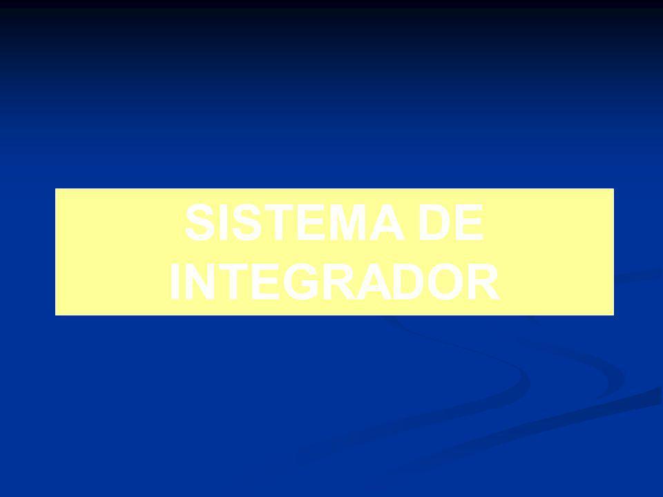 SISTEMA DE INTEGRADOR