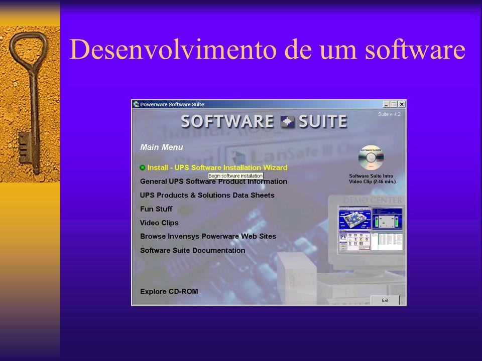 Desenvolvimento de um software