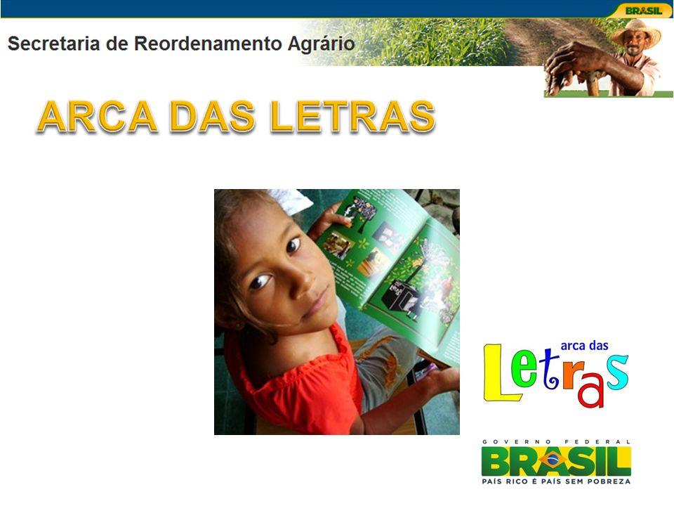 FINALIDADE Programa de implantação de bibliotecas rurais e de formação de agentes comunitários para o incentivo à leitura dos agricultores e sua família