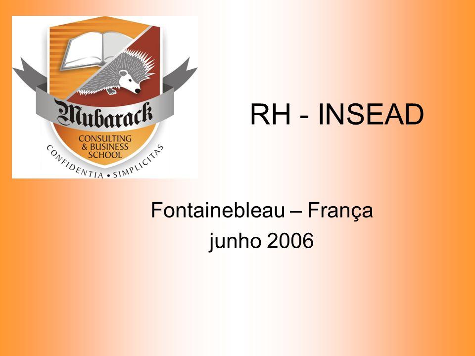 RH - INSEAD Fontainebleau – França junho 2006