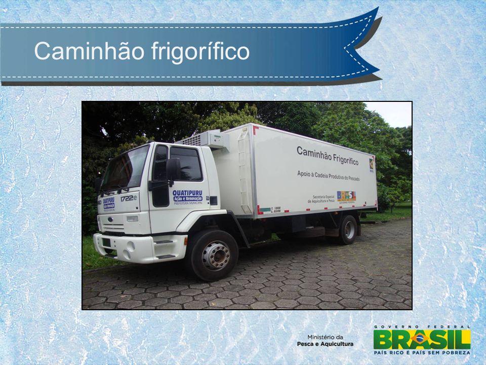 Caminhão frigorífico