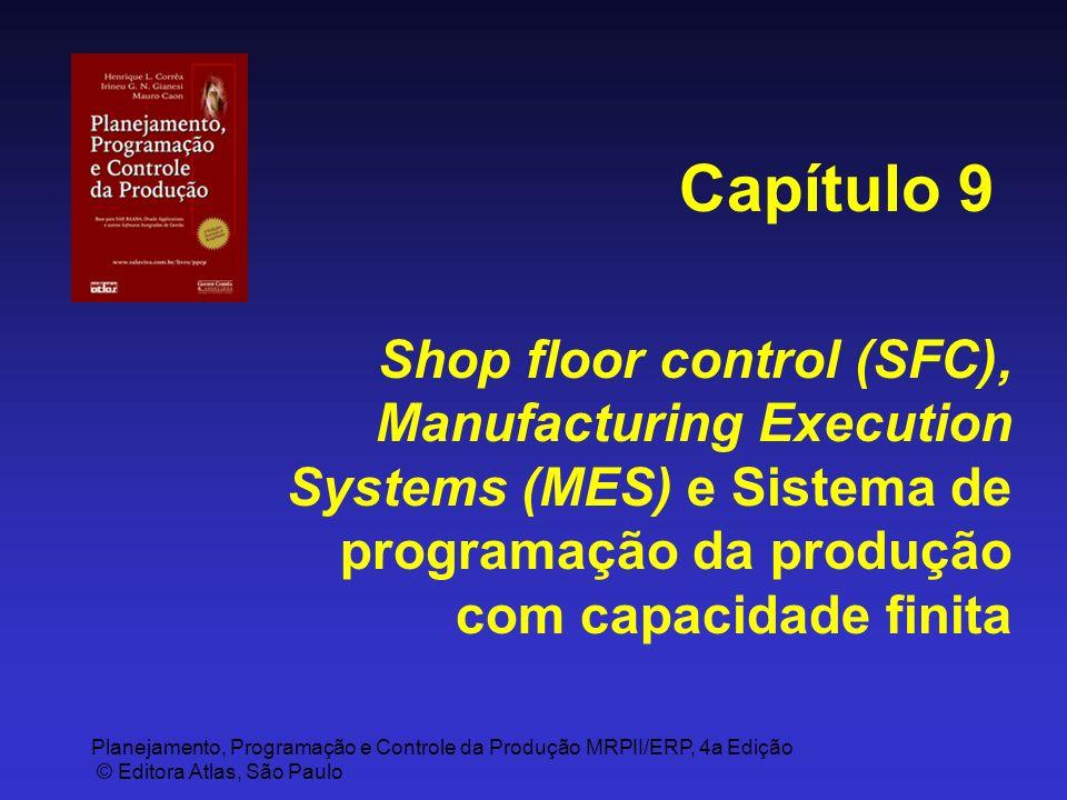 Planejamento, Programação e Controle da Produção MRPII/ERP, 4a Edição © Editora Atlas, São Paulo Shop floor control (SFC), Manufacturing Execution Sys