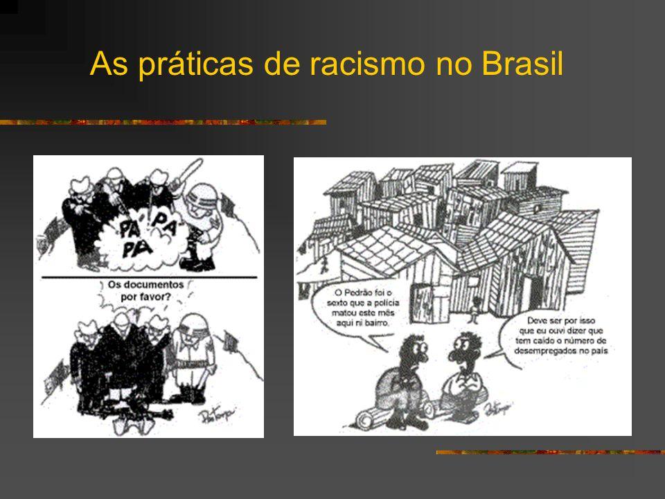 As práticas de racismo no Brasil