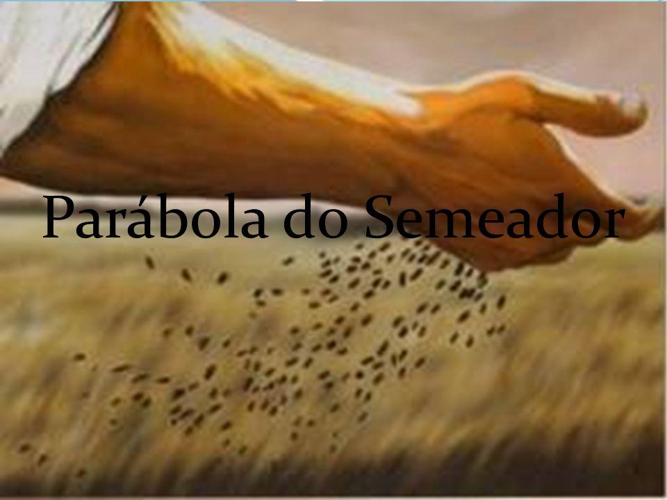 Aquele que semeia saiu a semear; - e, semeando, uma parte da semente caiu ao longo do caminho e os pássaros do céu vieram e a comeram.