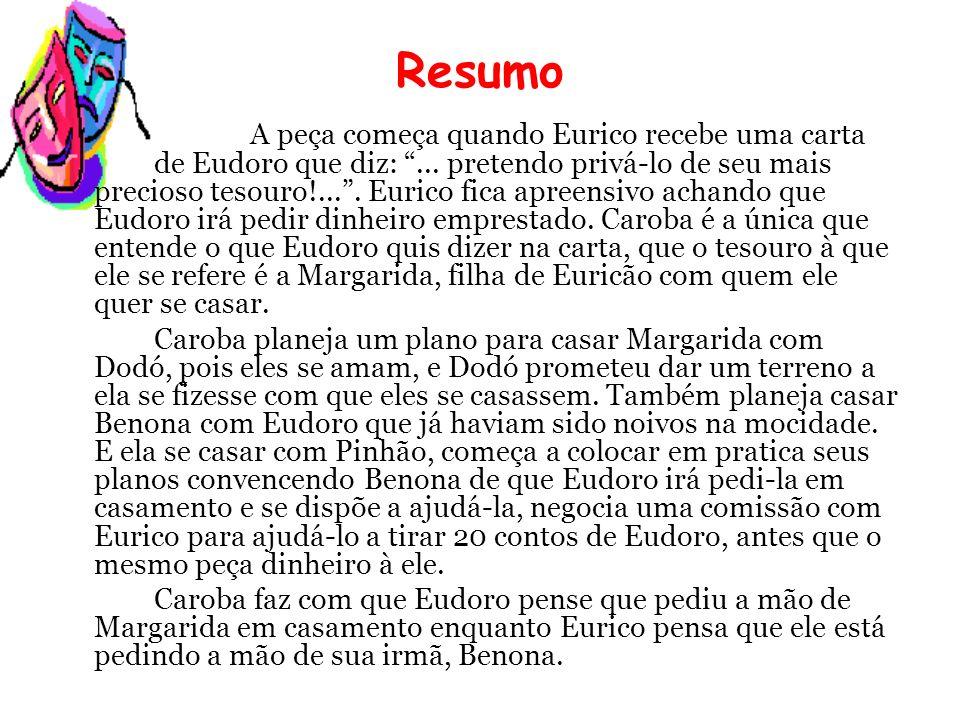 Eurico fica descrente de Santo Antônio alegando que ele não está protegendo seu dinheiro e resolve enterrar a porca no cemitério, depois de jantar com Eudoro.