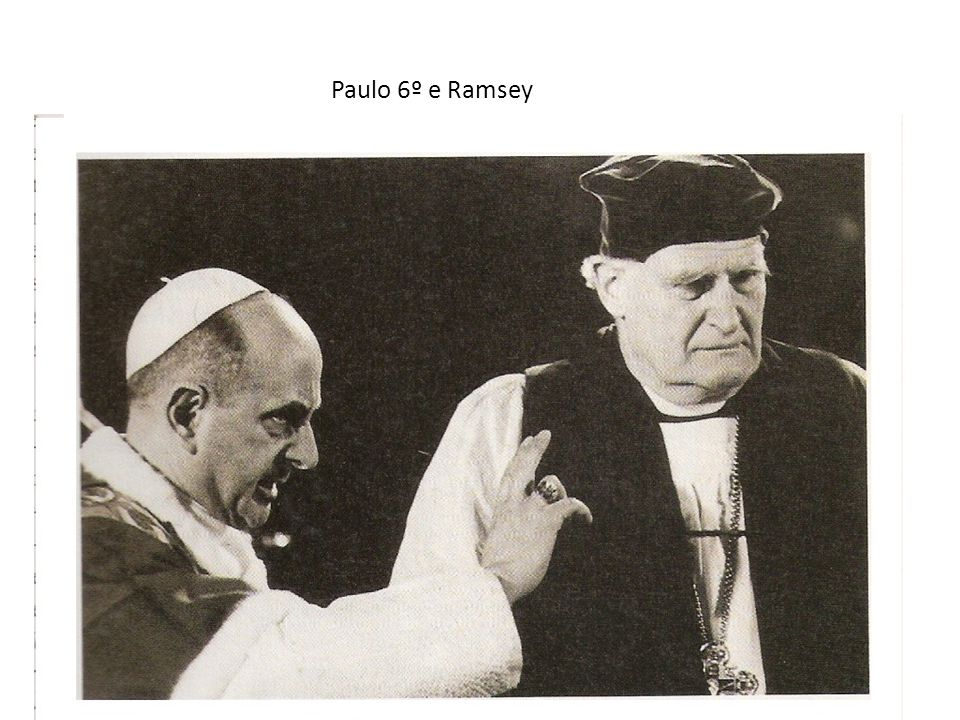 Paulo 6º e Ramsey
