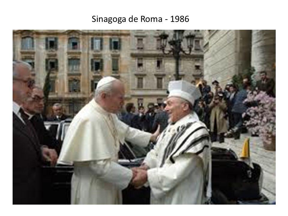 Sinagoga de Roma - 1986
