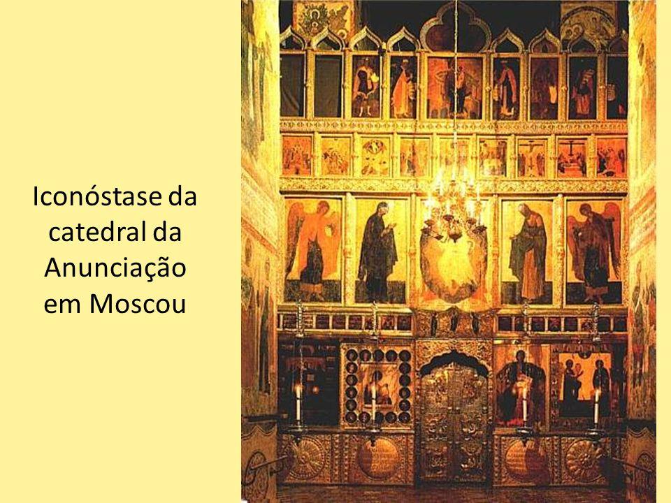 Iconóstase da catedral da Anunciação em Moscou 51