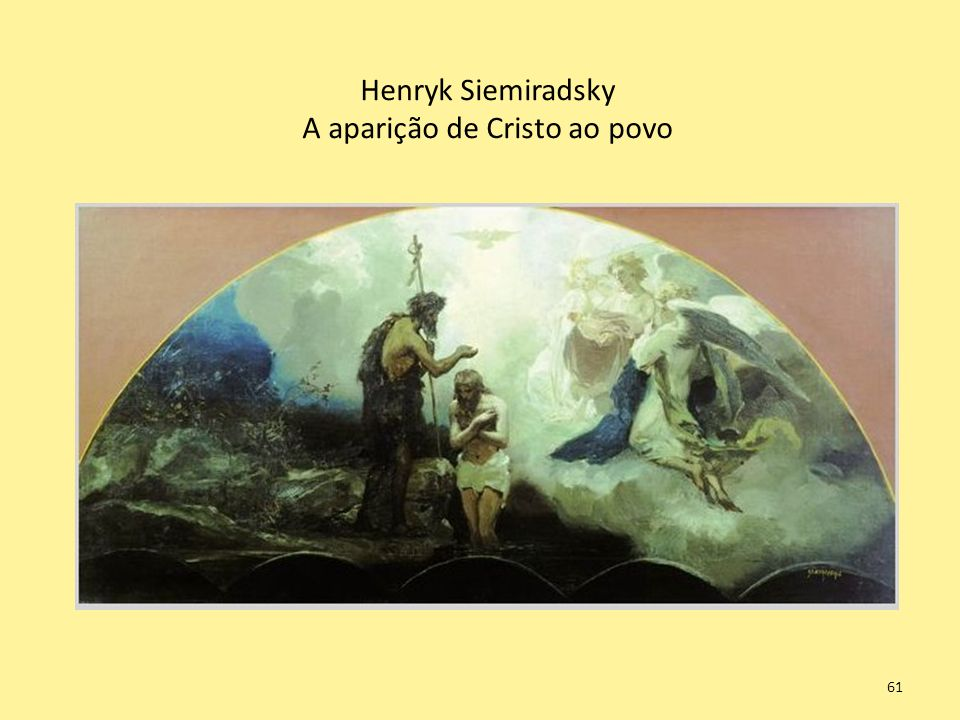 Henryk Siemiradsky A aparição de Cristo ao povo 61