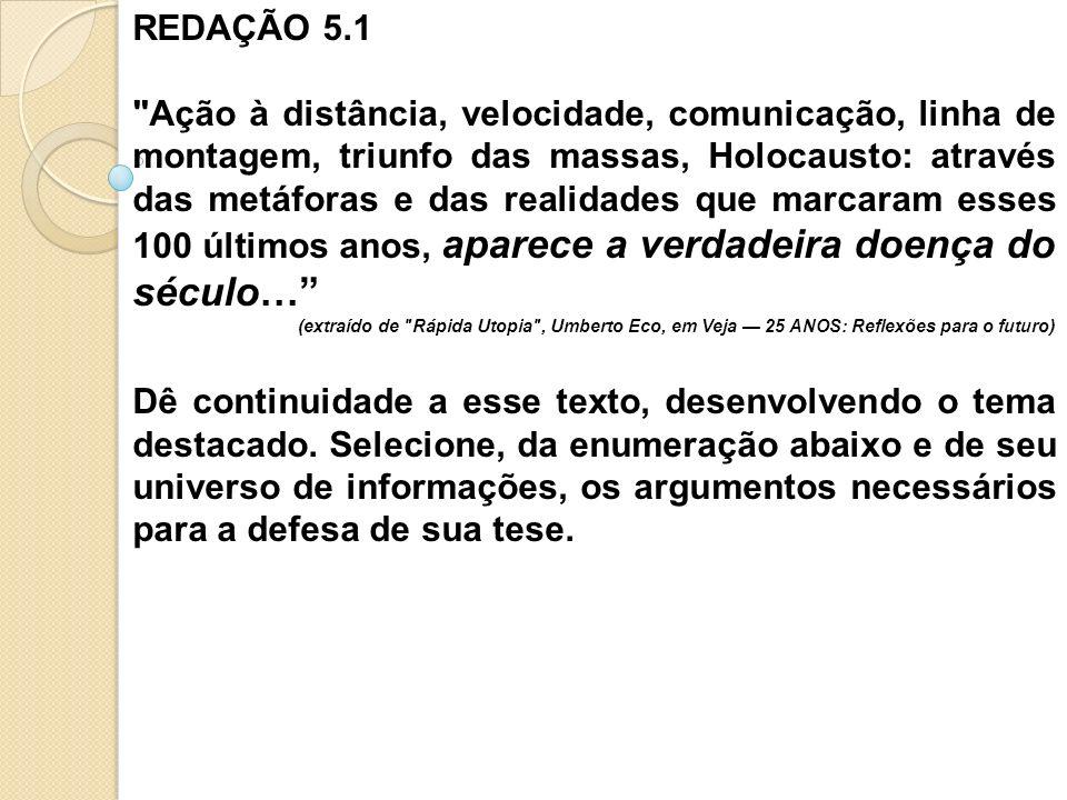 REDAÇÃO 5.1
