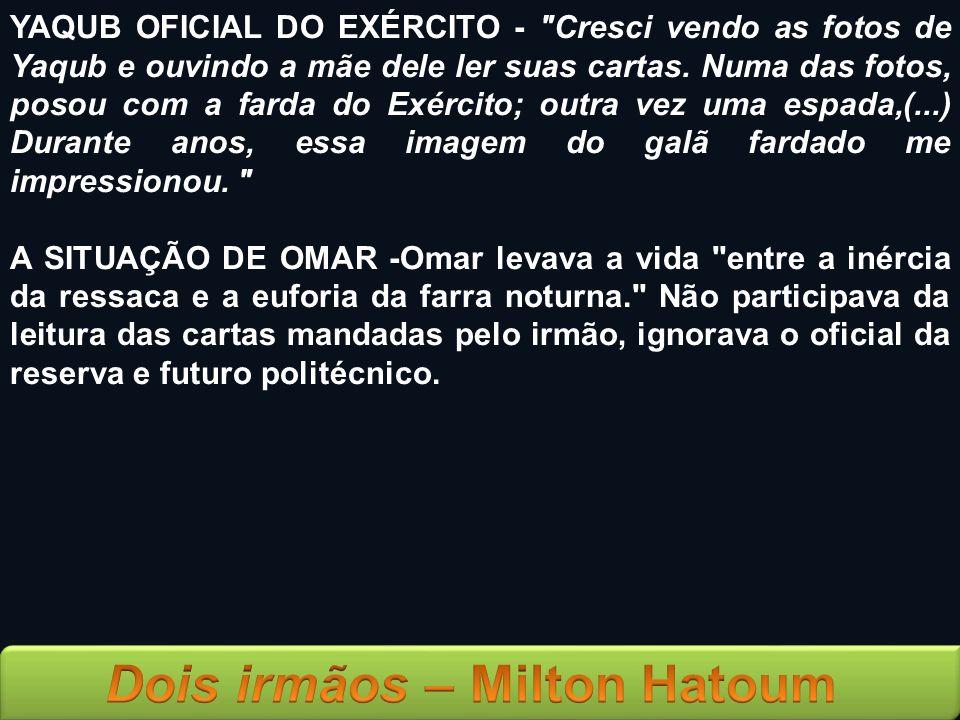 YAQUB OFICIAL DO EXÉRCITO -