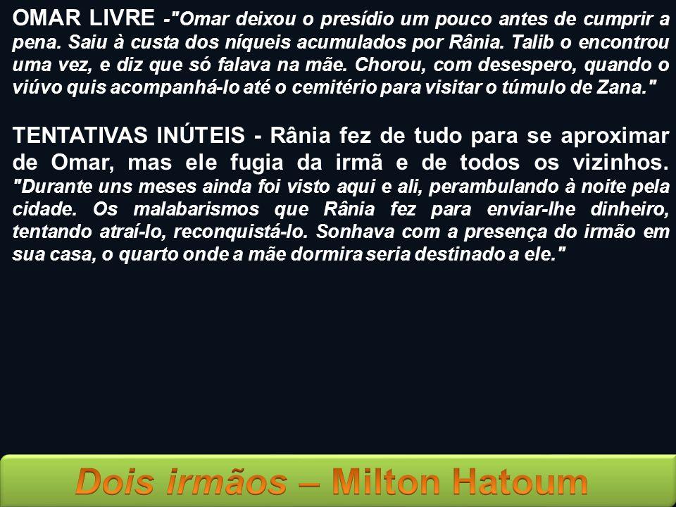 OMAR LIVRE -