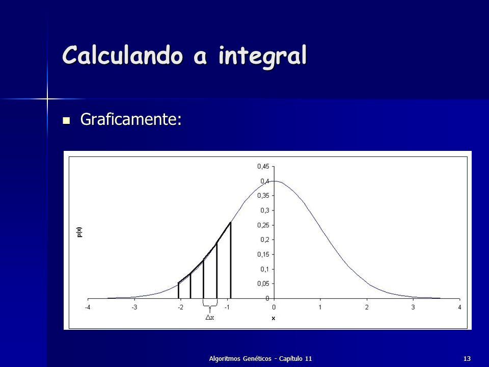 Algoritmos Genéticos - Capítulo 1113 Calculando a integral Graficamente: Graficamente: