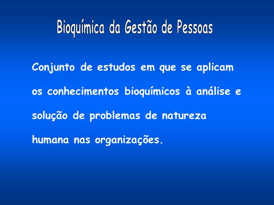 Conjunto de estudos em que se aplicam os conhecimentos bioquímicos à análise e solução de problemas de natureza humana nas organizações.
