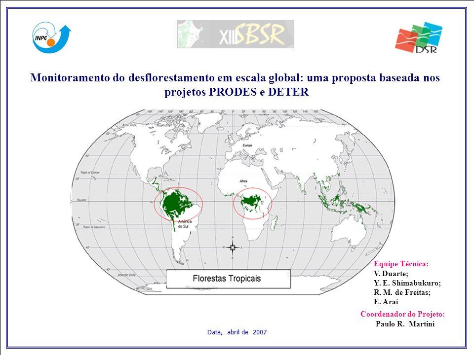 Data, abril de 2007 Equipe Técnica: V. Duarte; Y.