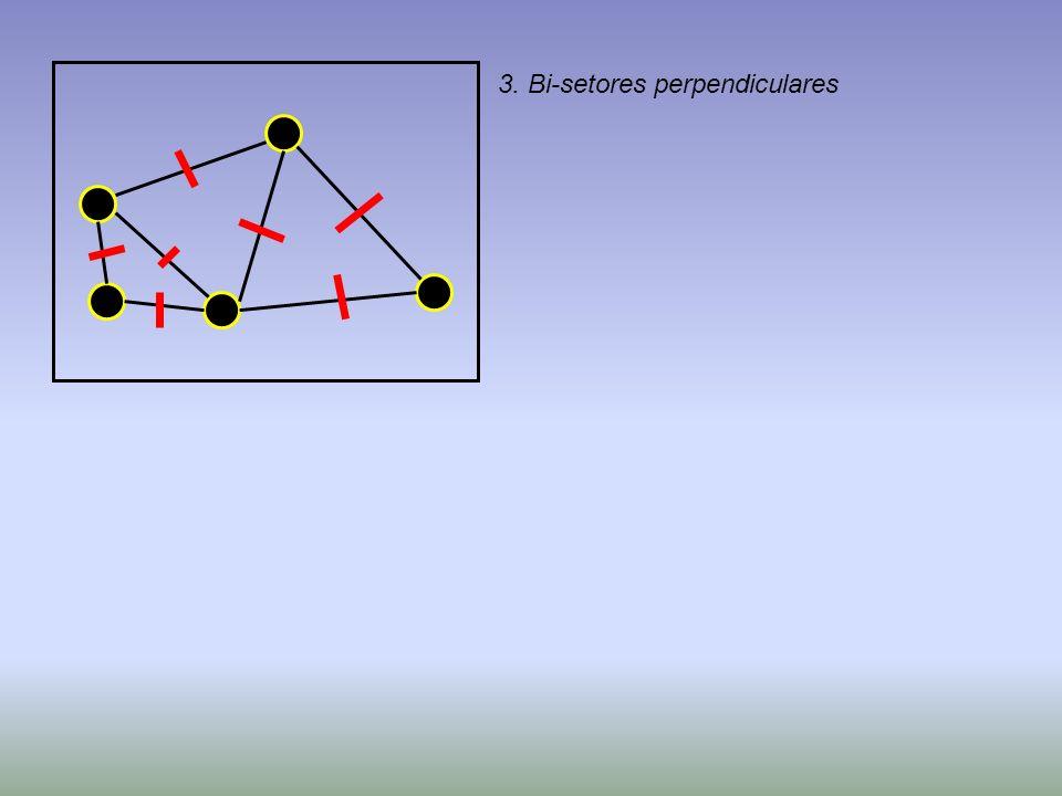 3. Bi-setores perpendiculares