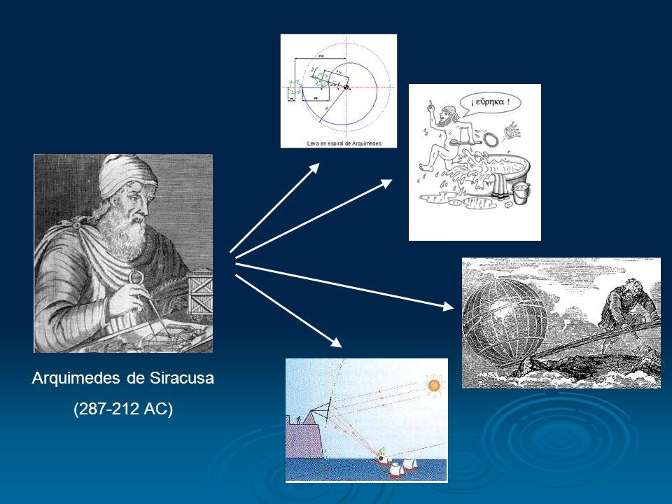 Arquimedes de Siracusa (287-212 AC)