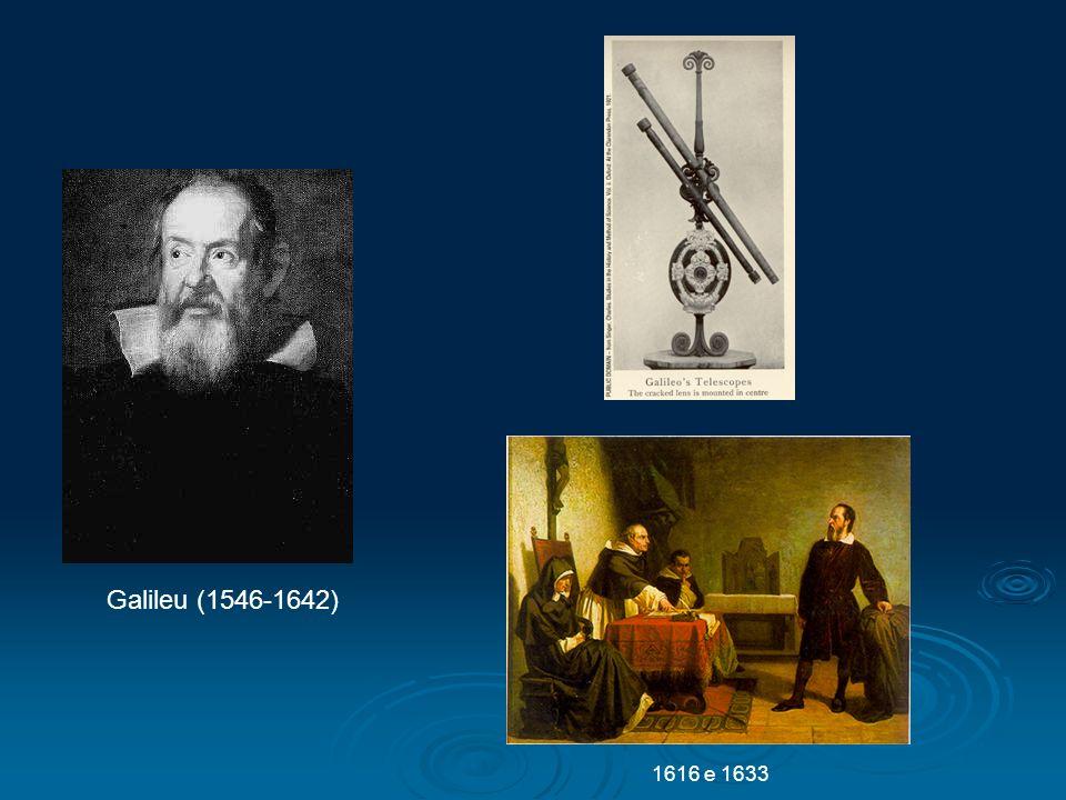 Galileu (1546-1642) 1616 e 1633