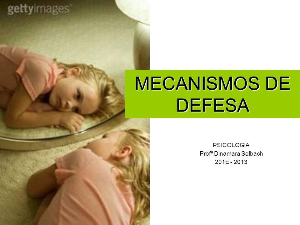 PSICOLOGIA Profª Dinamara Selbach 201E - 2013 MECANISMOS DE DEFESA