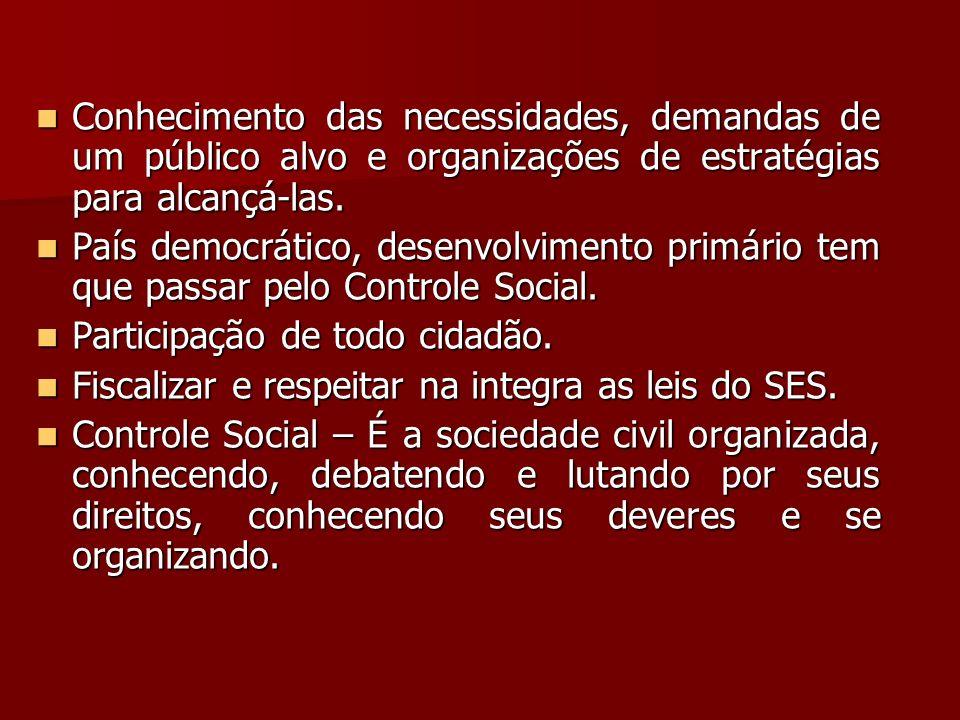 Conhecimento das necessidades, demandas de um público alvo e organizações de estratégias para alcançá-las.