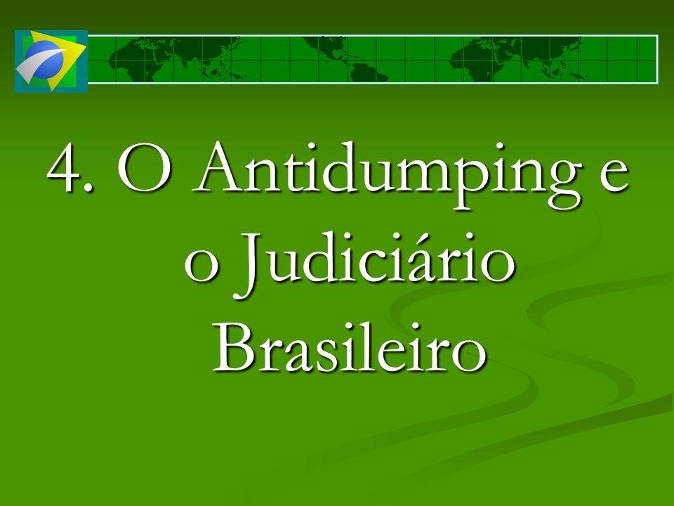 4. O Antidumping e o Judiciário Brasileiro
